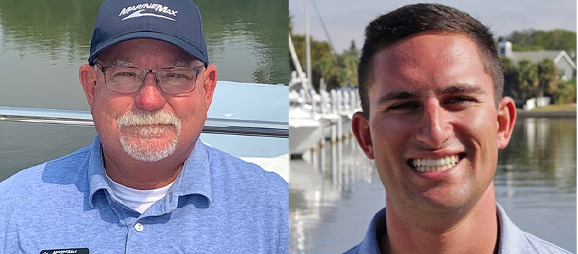 Captain Keith and Captain Nick of MarineMax