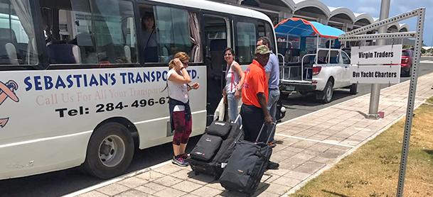 British Virgin Islands taxi shuttle