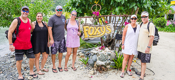 Group by Foxys sign in the BVI