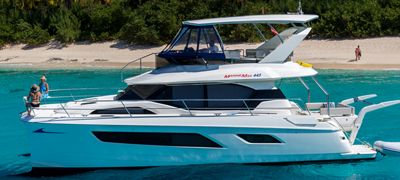 MarineMax Vacations 443 Power Catamaran