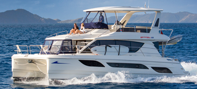 MarineMax Vacations 484 Power Catamaran