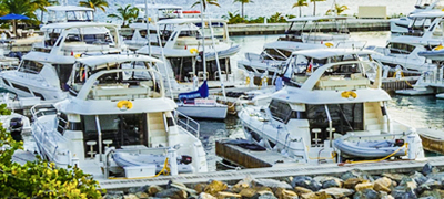 MarineMax Vacations Power Catamaran Fleet