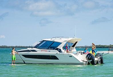 MarineMax 362 Power Catamaran