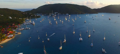 North Sound on Virgin Gorda