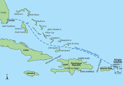 Map of BVI