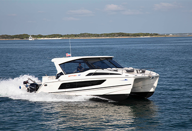 MarineMax Vacations 362 power catamaran from Aquila