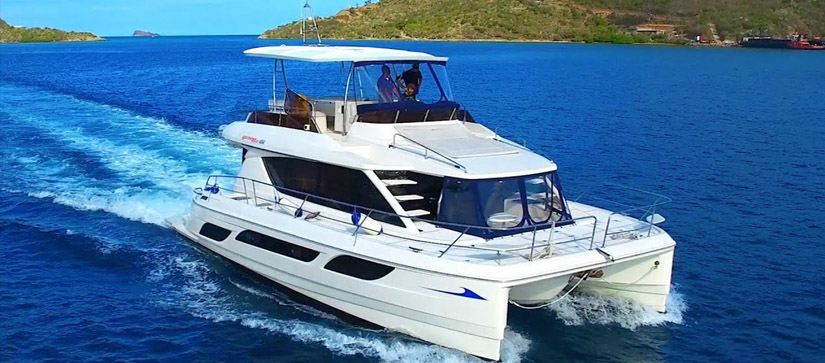 Yacht cruising through the ocean - Introducing The British Virgin Islands