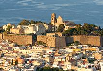 Cityscape of Sicily