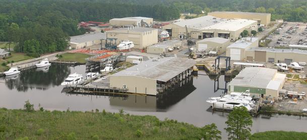 MarineMax shipyard