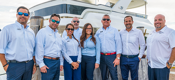 Marinemax sales team