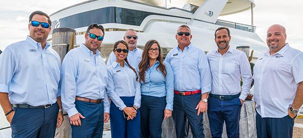 Marinemax sales team