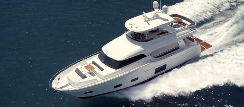 Ocean Alexander 70e Yacht